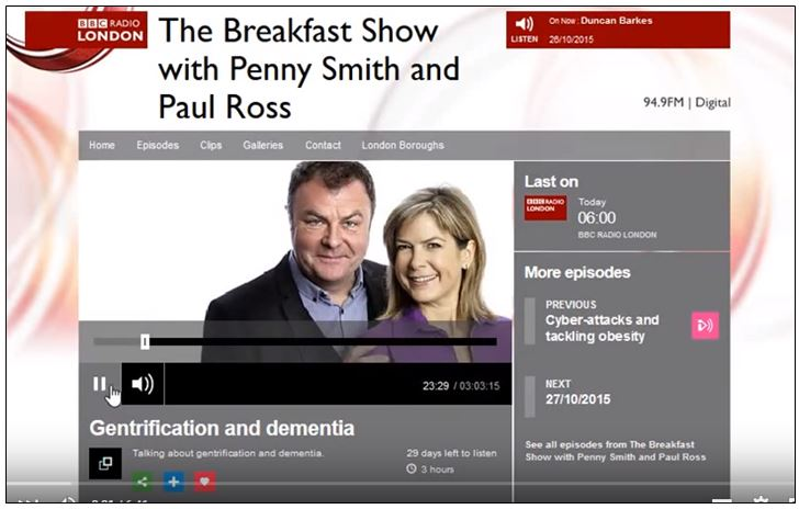 BBC Breakfast Show with Paul Ross