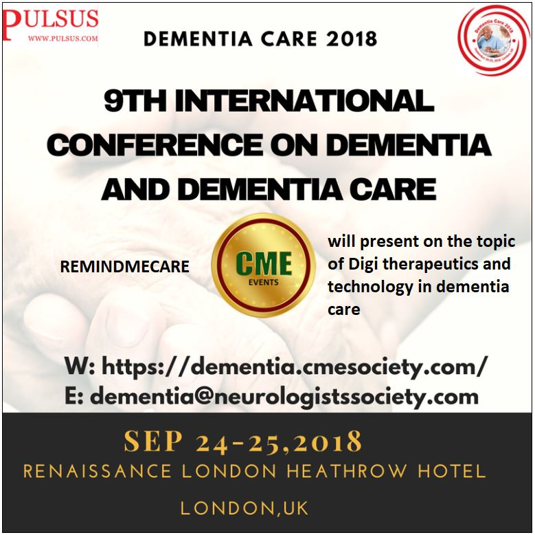 9th International Dementia Conference