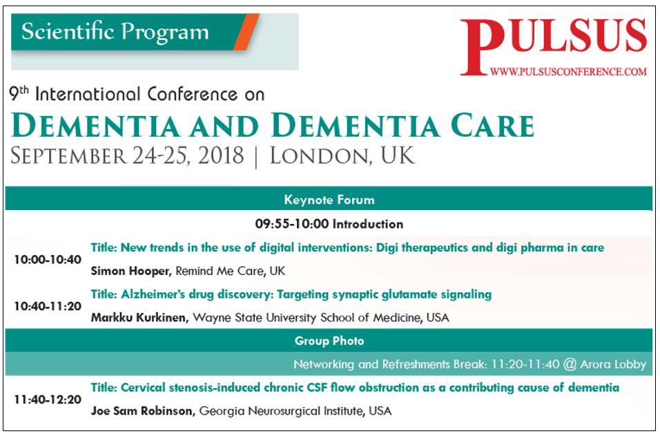Pulsus dementia care conference
