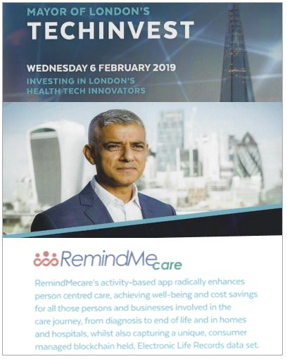 Techinvest Mayors care leaders event