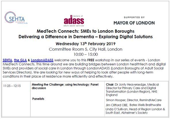 SEHTA Adass Dementia care in the community