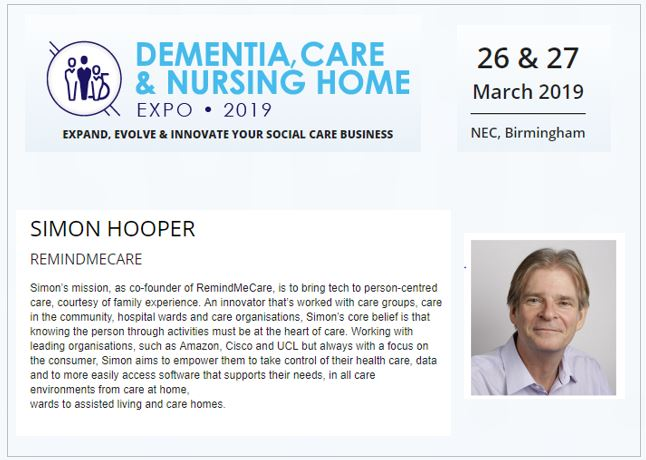 Dementia care & nursing home show