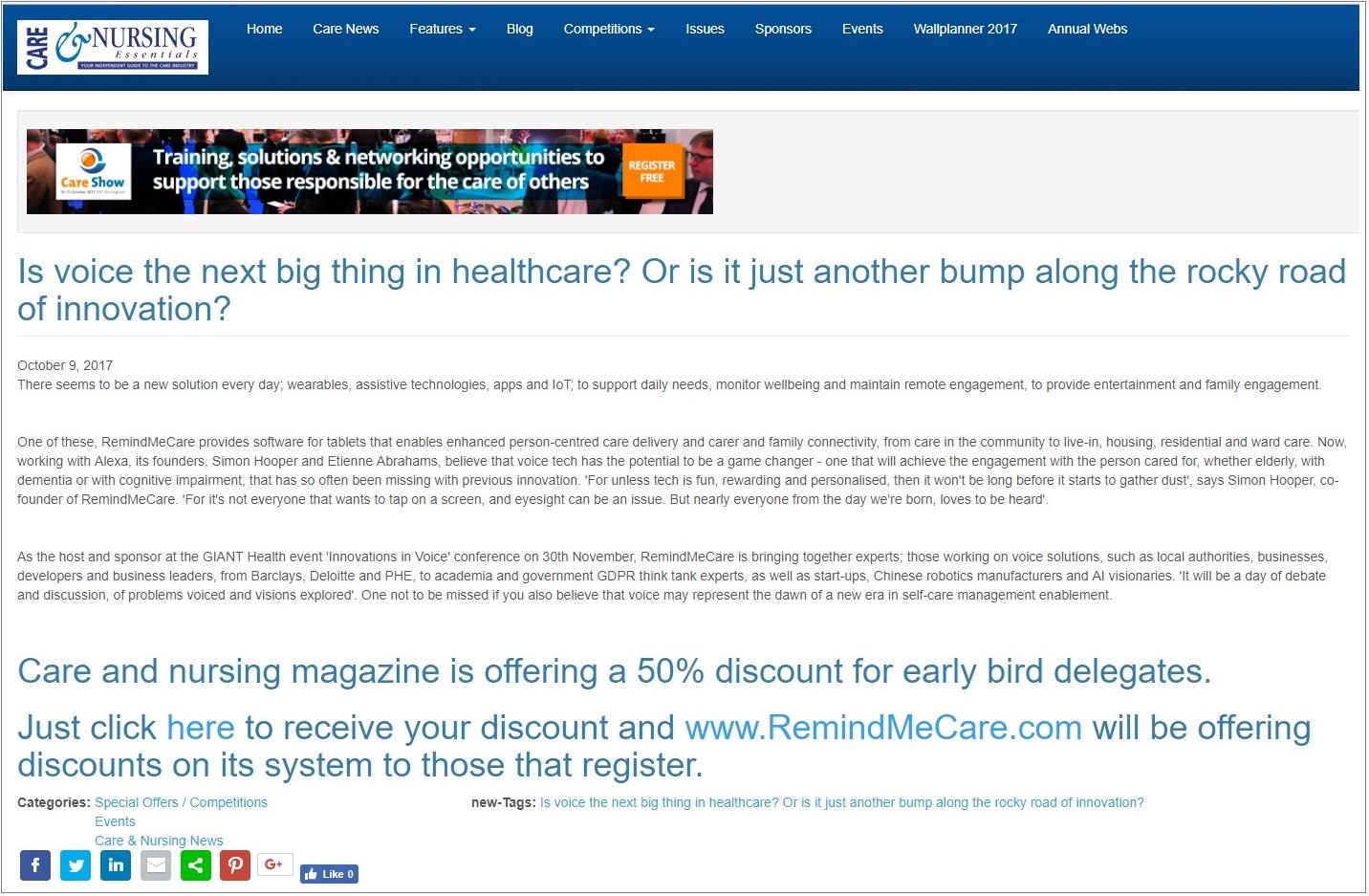Care & Nursing Essentials